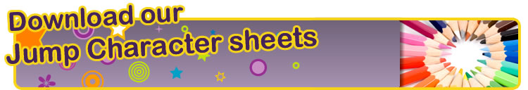 Download our colouring sheets